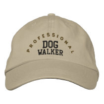 Professional Dog Walker Hat