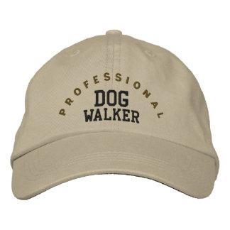 Professional Dog Walker Hat Embroidered Baseball Cap