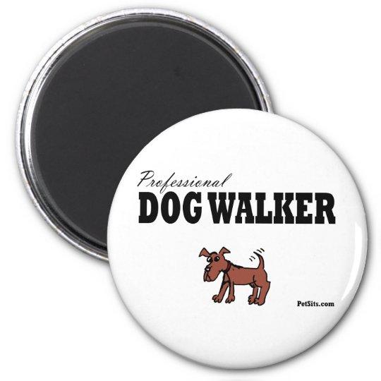 Professional Dog Walker Magnet