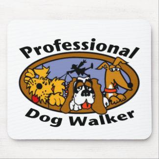 Professional Dog Walker Mouse Pad