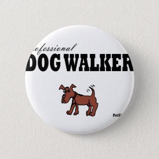 Professional Dog Walker Pinback Button