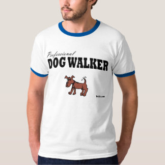 Professional Dog Walker T Shirt