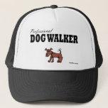 """Professional Dog Walker Trucker Hat<br><div class=""""desc"""">Dog Walking items for Professional Dog Walkers and Pet Sitters</div>"""