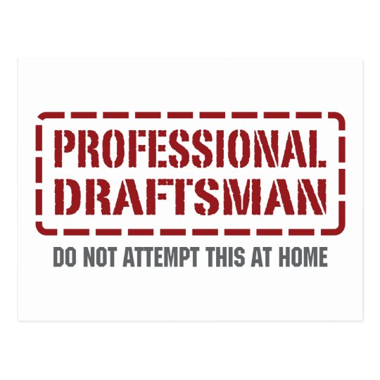 Professional Draftsman Postcard
