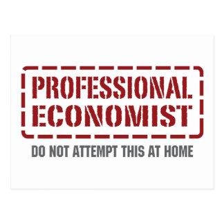 Professional Economist Postcard