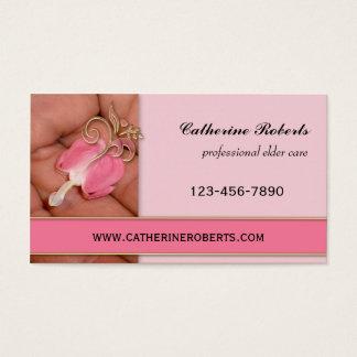 Professional Elder Care Business Card