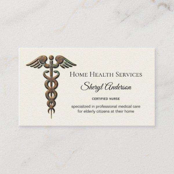 Professional elderly care nurse business card custom products professional elderly care nurse business card reheart Gallery