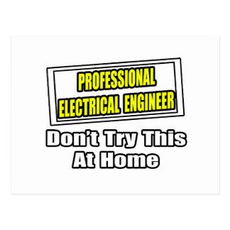 Professional Electrical Engineer...Joke Postcard