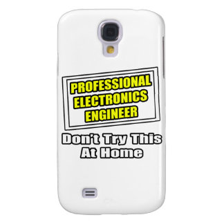 Professional Electronics Engineer .. Joke Galaxy S4 Cover