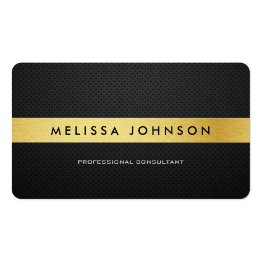 Professional Elegant Modern Black and Gold Business Card Templates