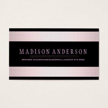 Professional Business Professional Elegant Modern Black Chalk Board Business Card