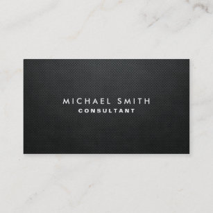 Black business cards zazzle professional elegant modern black plain simple business card colourmoves
