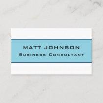 Professional Elegant Modern Blue Business Card