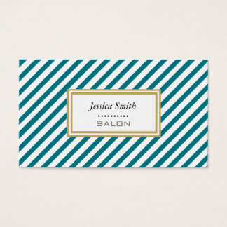 Professional elegant modern gentle narrow stripes business card