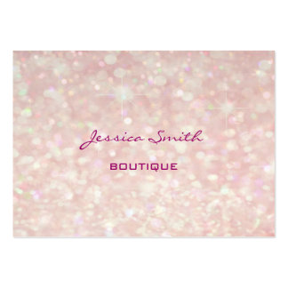 Professional elegant modern luxury glitter bokeh large business cards (Pack of 100)