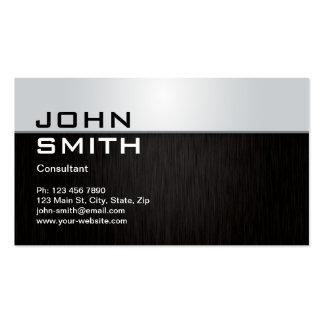 Professional Elegant Modern Metal Computer Repair Business Card
