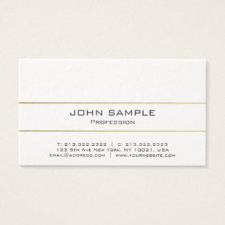 Professional Elegant Modern Plain Gold Luxury Business Card