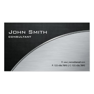 Professional Elegant Modern Silver Computer Repair Business Cards