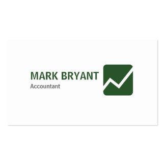 Professional Elegant Modern White Simple Business Card