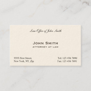 Attorney business cards 3300 attorney business card templates professional elegant plain attorney law office business card cheaphphosting