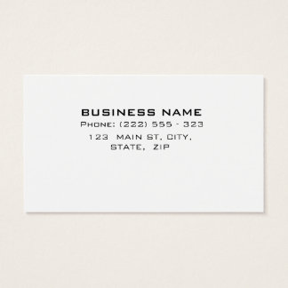 Professional Elegant Simple Lawyer business card