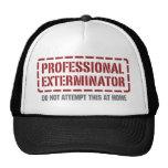 Professional Exterminator Hat