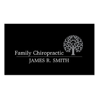 Chiropractic business cards templates zazzle for Family business cards