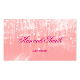 Professional faux glamorous modern elegant plain business card