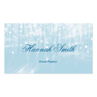 Professional faux glamorous modern elegant plain Double-Sided standard business cards (Pack of 100)