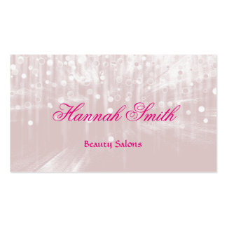 Professional faux glamorous modern luxury glitter Double-Sided standard business cards (Pack of 100)