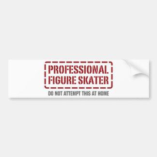Professional Figure Skater Bumper Stickers