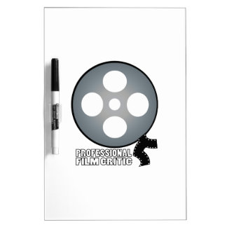 Professional Film Critic Dry-Erase Boards