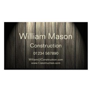 Professional Flooring / Carpenter Business Card