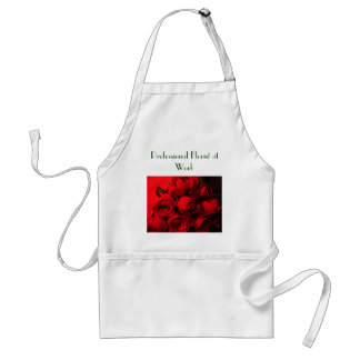 """Professional Florist at Work"" Adult Apron"