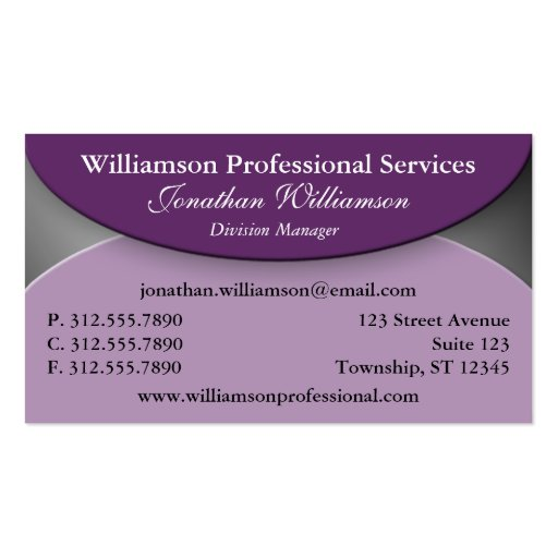 Standard sized folded business cards business card templates for Folding business cards template