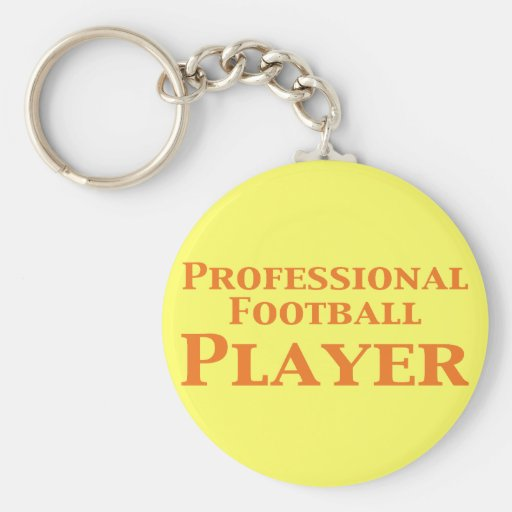 Professional Football Player Gifts Keychain