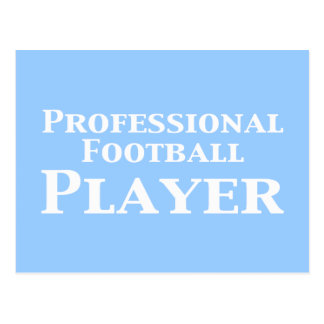 Professional Football Player Gifts Postcard