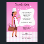 """Professional Fun Baking Bake Sale Custom Flyers<br><div class=""""desc"""">Beautifully illustrated flyer template, with original illustrations that are sure to please everyone! This flyer will impress the customers. The front of the flyer contains all information, and you can easily personalize the text. It can also be used for any orther purpose, if you sell baking goods feel free to...</div>"""