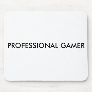 PROFESSIONAL GAMER MOUSE PAD