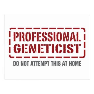 Professional Geneticist Postcard