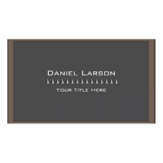 Professional Geometric Business Card