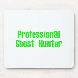 Professional Ghost Hunter Mouse Pad