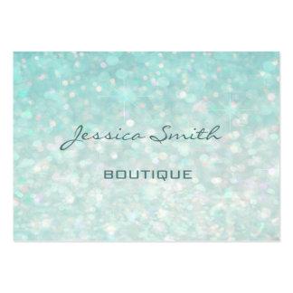 Professional glamorous modern elegant plain bokeh large business card