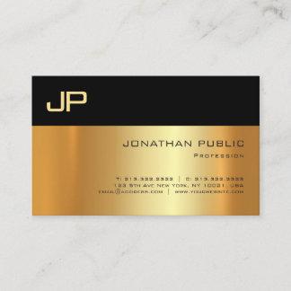 Professional Gold Light And Shadow Elegant Sleek Business Card