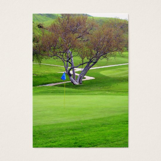Professional Golf Business Card