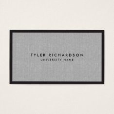 Professional Graduate Student Business Card at Zazzle