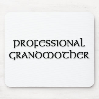 Professional Grandmother Mouse Pad