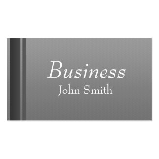 Professional Grey Business Card