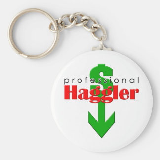 Professional Haggler Keychain