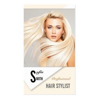 Professional Hair Stylist / Beauty Salon Card Business Cards